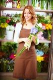 Flower lover Stock Images