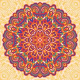 Flower Mandala. Abstract element for design Stock Photography