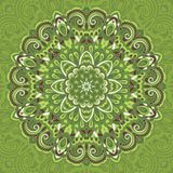 Flower Mandala. Abstract element for design Stock Photos