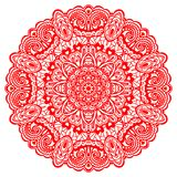 Flower Mandala. Abstract element for design. Abstract Flower Mandala. Decorative element for design. Vector illustration Royalty Free Stock Image
