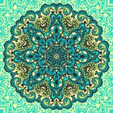 Flower Mandala. Abstract element for design Royalty Free Stock Photos