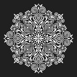 Flower Mandala. Abstract element for design Stock Photo