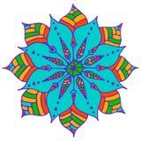 Flower mandala Stock Photo