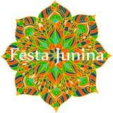 Flower mandala Royalty Free Stock Photography