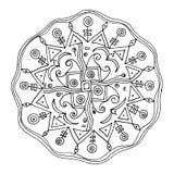 Flower mandala Stock Image