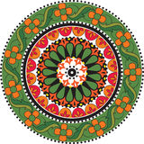 Flower Mandala. Royalty Free Stock Image