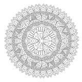 Flower Mandala vector illustration Stock Photo