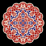 Flower Mandala. Vintage decorative elements. Oriental pattern, vector illustration. Royalty Free Stock Photos