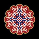 Flower Mandala. Vintage decorative elements. Oriental pattern, vector illustration.  Stock Photo