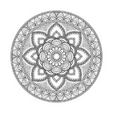 Flower Mandala. Vintage decorative elements. Oriental pattern, vector illustration. Islam, Arabic, Indian, moroccan royalty free illustration