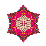 Flower Mandalas. Vintage decorative elements. Stock Photos