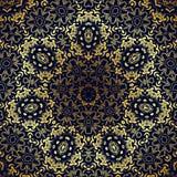Flower Mandalas. Vintage decorative elements. Oriental pattern illustration Royalty Free Stock Image