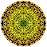 Flower Mandalas. Vintage decorative elements. Oriental pattern,  illustration.  Royalty Free Stock Images