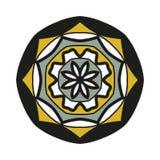 Mandala shape stock illustration