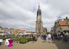 Free Flower Market In Delft, Holland Stock Image - 31412941