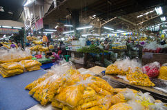 Flower market in Thailand Stock Photography