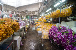 Flower market in Thailand Royalty Free Stock Photos