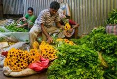 Flower market Royalty Free Stock Photos