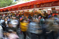 Flower market in Yuexiu District Royalty Free Stock Photos