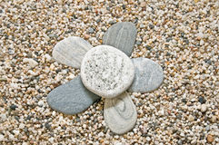 Flower of meditation Royalty Free Stock Photos