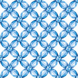Flower Mesh sapphires seamless texture vector. Flower braided Mesh with sapphires on a white background. Seamless texture, vector Stock Photo