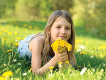 Flower for mommy Royalty Free Stock Images