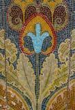 Flower mosaix background Stock Photo