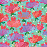 Flower mother seamless pattern Royalty Free Stock Photo