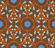 Flower motif background Royalty Free Stock Photo