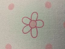 Flower on my shirt. Royalty Free Stock Image