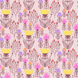 Flower nature pattern Royalty Free Stock Images
