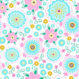 Flower nature pattern Stock Images