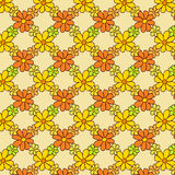 Flower Net Pattern on Light Background Stock Photography