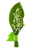 Flower Of Lily Of The Valley Royalty Free Stock Images