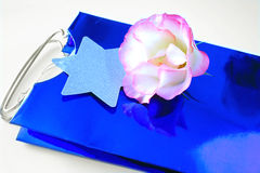 Free Flower On Gift Bag Royalty Free Stock Photography - 587247