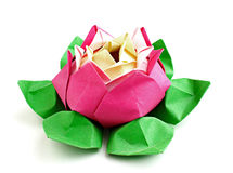 Flower origami Royalty Free Stock Photos