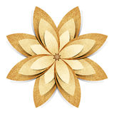 Flower origami recycled paper craft Stock Photography
