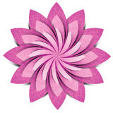 Flower origami recycled paper craft Royalty Free Stock Photography