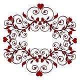 Flower ornament Stock Image