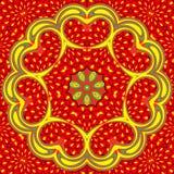 Flower ornament. Stock Images