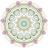 Flower ornament. Royalty Free Stock Images