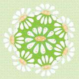 Flower ornament Royalty Free Stock Image