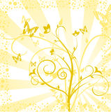 Flower ornaments Royalty Free Stock Photography