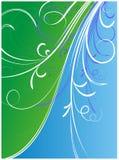 Flower ornaments composition. Vector illustration with flower ornaments stock illustration