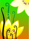 Flower painting Royalty Free Stock Photos