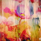 Flower painting royalty free stock images