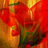 Flower painting Stock Photography