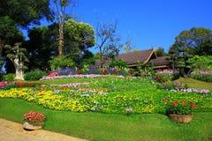 Flower palace Stock Image