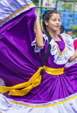 Flower & Palm Festival in Panchimalco, El Salvador Stock Photography