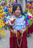 Flower & Palm Festival in Panchimalco, El Salvador Royalty Free Stock Images